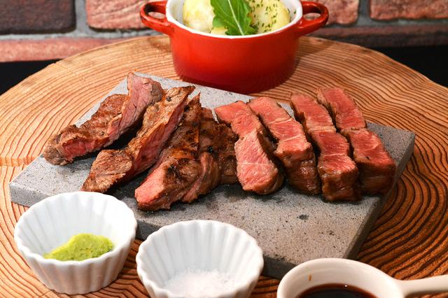 フランス産シャロレー純血種 牛ロースステーキ(160g)~ 牛テールデミグラスソース ~ 1,850円 (税込1,998円)
