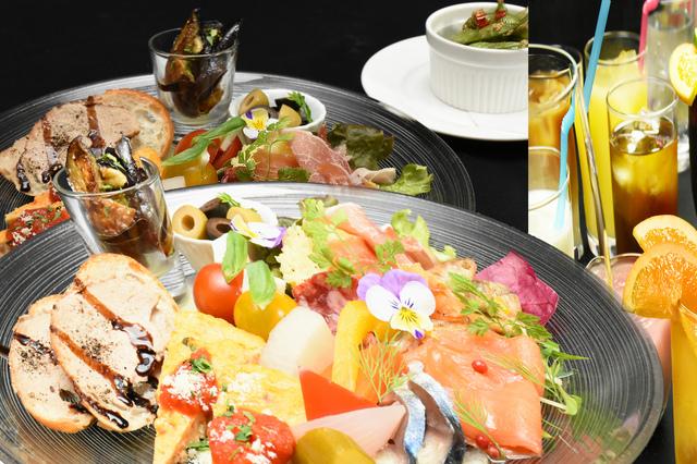 前菜の盛合わせセットプラン 2,455円 (税込2,700円)